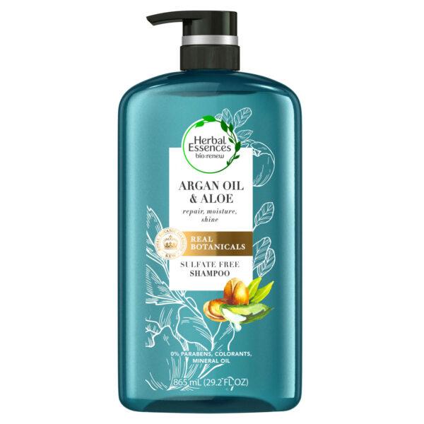 *Herbal Essences Bio:renew Argan Oil & Aloe Sulfate Free Shampoo