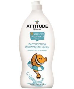 ATTITUDE Baby Bottle & Dish Liquid Fragrance Free