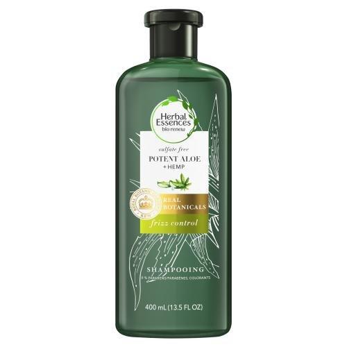 *Herbal Essences Bio:renew Sulfate Free Potent Aloe + Hemp Frizz Control Shampoo