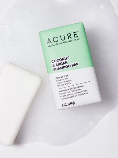 Acure Coconut & Argan Shampoo Bar