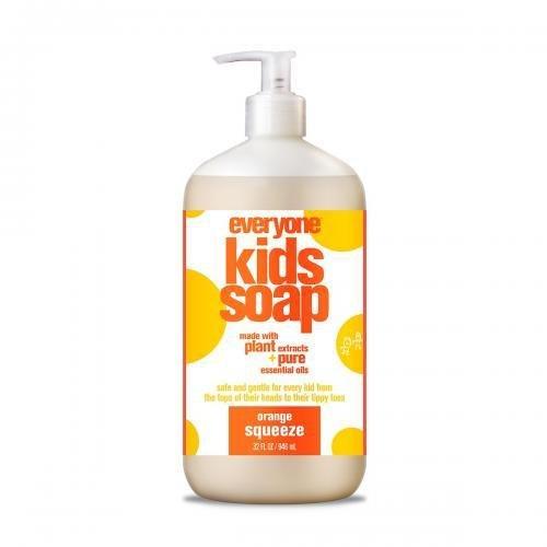 *Everyone Kids Soap, Orange Squeeze