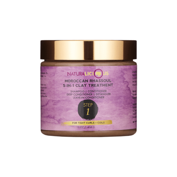 Naturalicious Moroccan Rhassoul 5-in-1 Clay Treatment