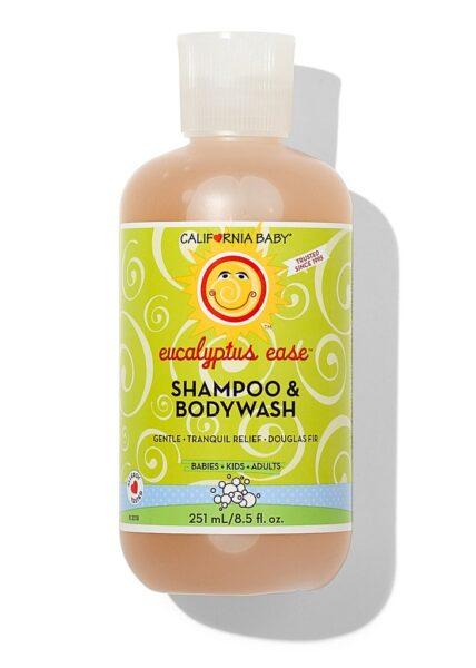 California Baby Shampoo and Bodywash, Eucalyptus Ease