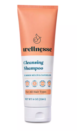 *Wellnesse Cleansing Shampoo for All Hair Types, Summer Melon & Dandelion