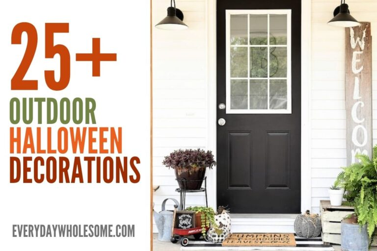 25+ Halloween Outdoor Decorations for Fall Home Decor