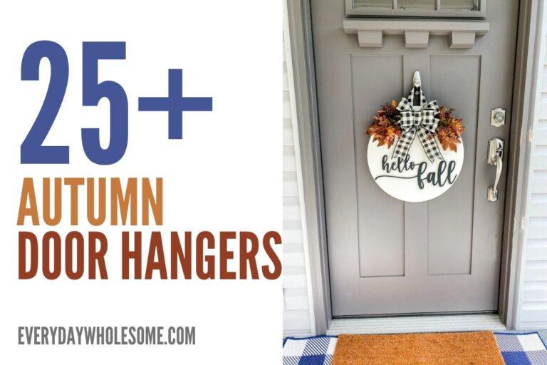 25+ Fall Door Hangers