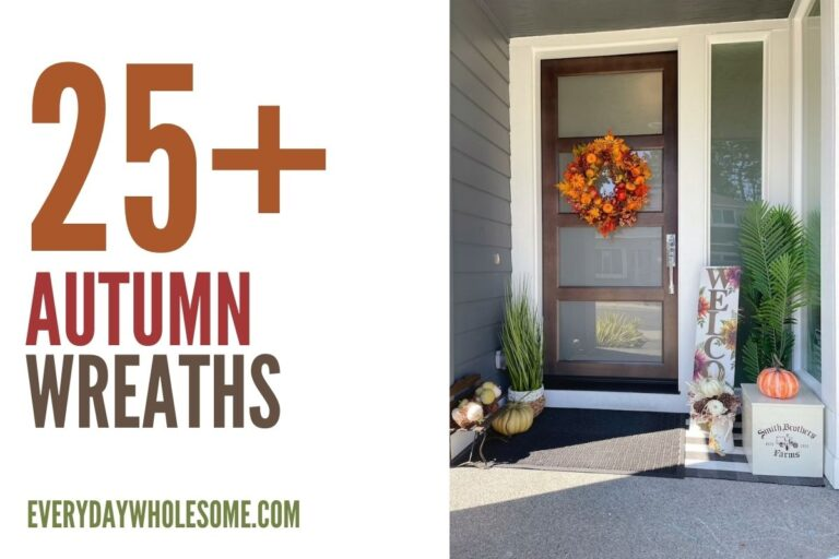 25+ Fall Wreaths for your Autumn Front Porch