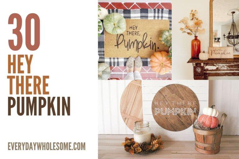 30 Hey There Pumpkin Fall Decor, Mats, Rugs, Shirts, Sweatshirts, Wall Decor, Wooden Signs