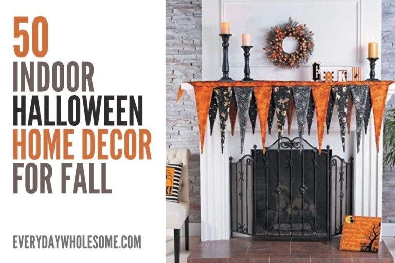 50+ Indoor Halloween Decor