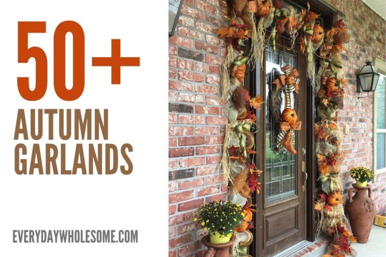 50 Fall Home Decor Garland for your Autumn Home Decor