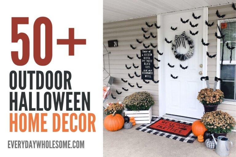 50+ Outdoor Halloween Decor