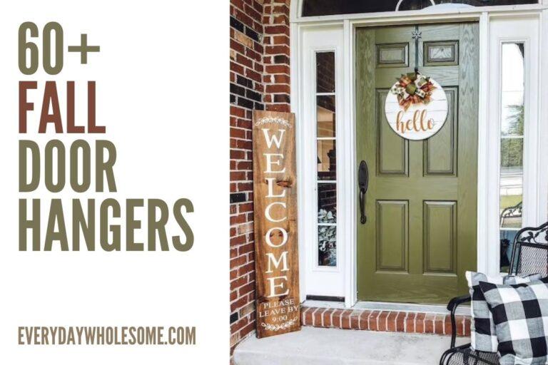 60+ Fall Door Hangers