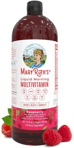 MaryRuth's Raspberry Vegan Multivitamin