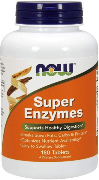 Super Enzyme Tablets – digestive enzymes