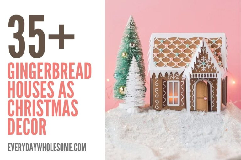 35+ Gingerbread Houses